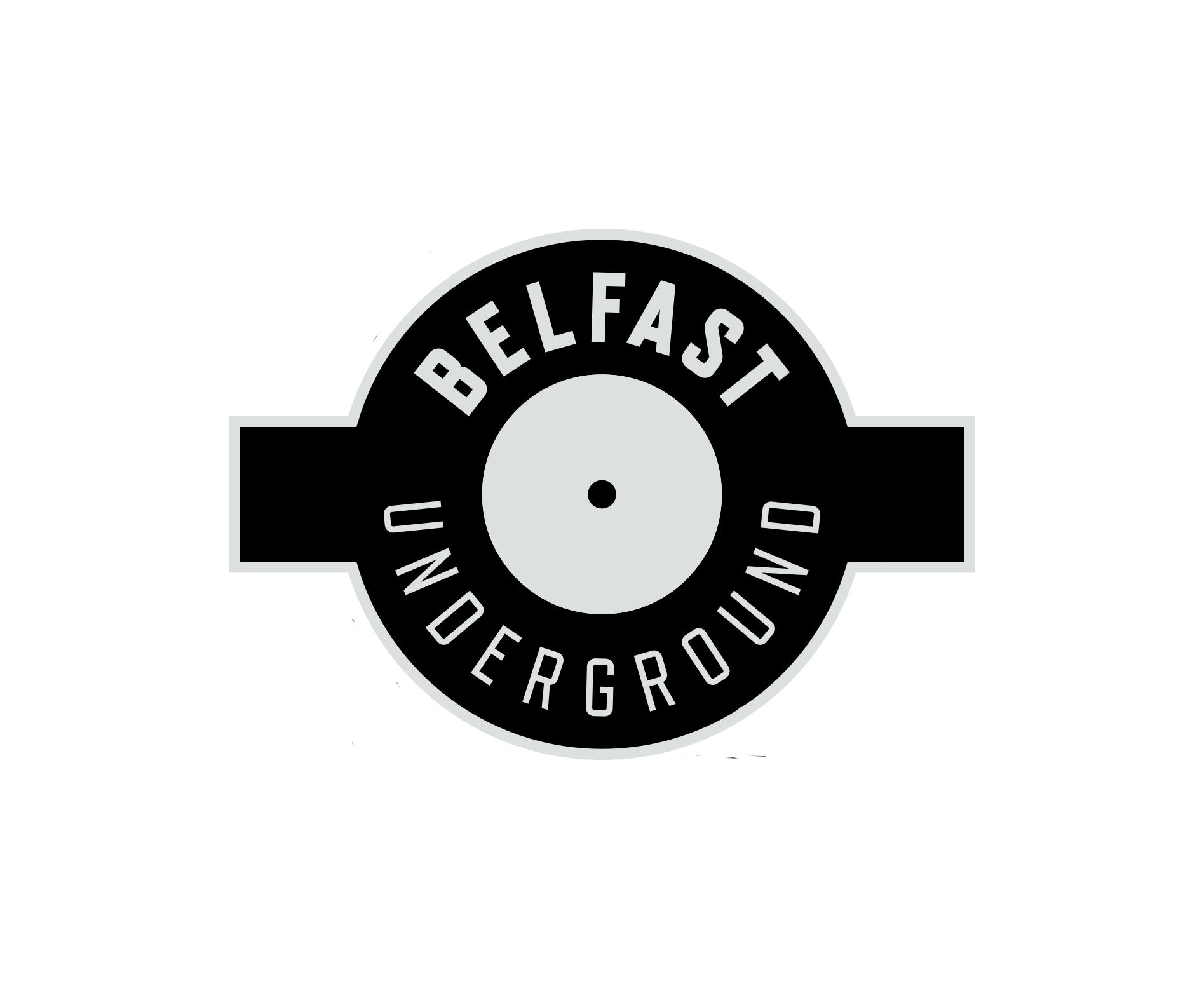 1279-Belfast Underground T Shirt Design (SINGLE COLOUR SKELETON)