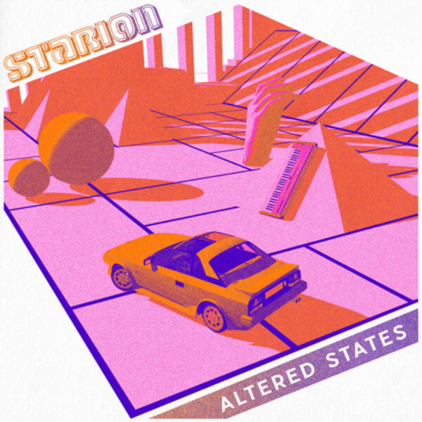 STARION Altered States EP RED LASER