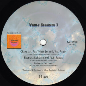 MR.FINGERS Vault Sessions 1 ALLEVIATED RECORDS